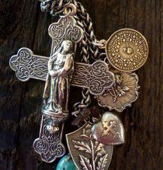 Crucifix in sterling
