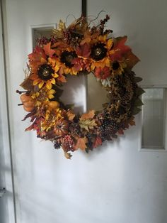 Fall Wreath: Made by Request