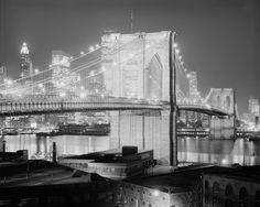 Brooklyn Bridge, Lower Manhattan: 1982