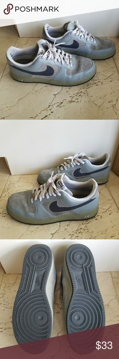 Nike Air Force 1s size 13 grey Nike Air Force ones size 13 Nike Shoes Athletic Shoes