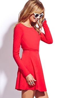 Casual Fit & Flare Dress   FOREVER21 - 2040495487 www.gentlemens.sk