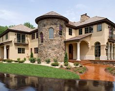 Exterior Tuscan Home Design, Pictures, Remodel, Decor and Ideas - page 7