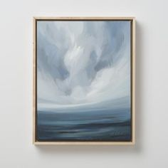 Wind + Sky 8 by Emily Jeffords Painting Inspiration, Art Inspo, Entryway Art, Neutral Art, Art Techniques, Landscape Art, Lovers Art, New Art, Photo Art