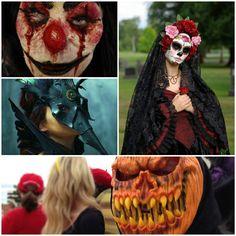 halloween masken gruselige masken halloween ideen