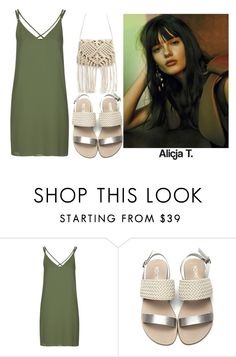 """Untitled #581"" by capm ❤ liked on Polyvore featuring Topshop"