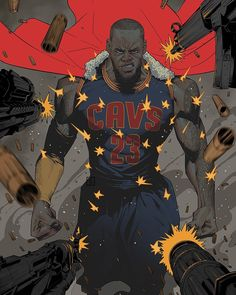 The king still the king!#clevelandcavaliers #cavs #nbafinals #lebronjames #nbaart