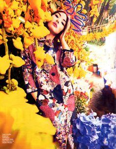 Into the East Fashion Shoot - Stylist Magazine Feb 2013