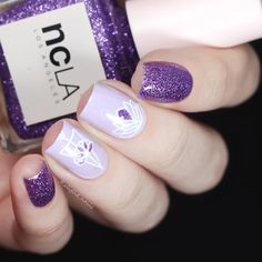 День бешеный, поэтому без слов:) #NCLA'LET'S GO PARTY' (@shopncla ❤) + Zoya 'Abby' (@zoyanailpolish ❤) + MoYou London Minimal 08…