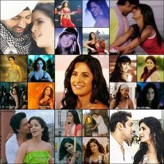 Katrina Kaif - collage of her best films