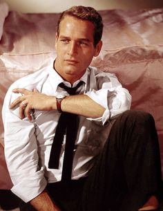 paul newman I could stare into those blue eyes all day :)