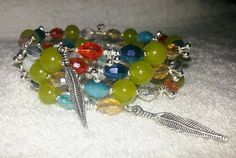 Southwestern Inspired Rainbow Bangle by URBANQUEST on Etsy, $25.99