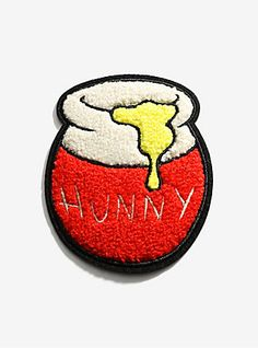 99a1e642 Disney Winnie The Pooh Hunny Pot Chenille Patch, Mickey Mouse Shoes, Disney  Mickey Mouse