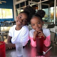 Organic Natural Hairstyles For Black Little Girls - Curly Craze Black Little Girls, Cute Black Babies, Beautiful Black Babies, Cute Little Baby, Baby Kind, Pretty Baby, Beautiful Children, Baby Love, Cute Babies