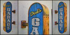 Rusty Dad's Garage Sign