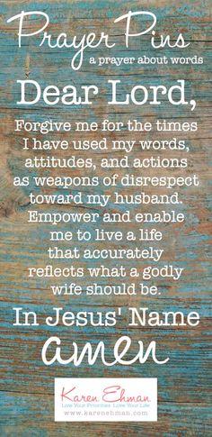 Ephesians 5:33 || Prayer Pins by Karen Ehman || Proverbs 31 Devotion {words}