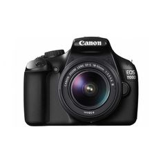 Canon EOS 1100D Digital SLR Camera with 18-55mm Single Lens Kit ❤ liked on Polyvore featuring fillers, camera, accessories, electronics and tech