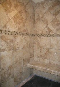 Image Detail for - Tile details of master suite on Independence Highway in Albany, Oregon . Albany Oregon, Shower Designs, Bath Room, Bathroom Renovations, Master Suite, Tile Floor, Tiles, Design Ideas, Detail