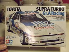 Vintage Tamiya Toyota Supra Turbo GrA Racing Model 1/24 Scale Drag LeMans Stock Funny Car Factory Sealed Parts Nice Box Motorsports Minolta by MarksVintageShoppe on Etsy