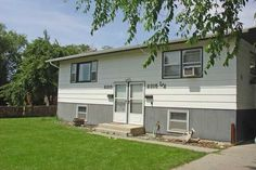 Two Bedroom Duplex with Garage - Billings MT Rentals | 2574 - Two bedroom 1 bath with shower only  washer and dryer included downstairs all electric duplex with garage in back. | Pets: Not Allowed | Rent: $650.00 | Call Rainbow Property Management Inc. at 406-248-9028