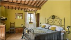 mediterrán vintage hálószoba - Luxuslakások Sweet Home, Bed, House, Furniture, Home Decor, Decoration Home, House Beautiful, Stream Bed, Home