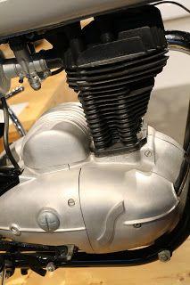 OldMotoDude: 1965 Sanglas on display at the Barber Vintage Motorsports Museum -- Birmingham, Al.