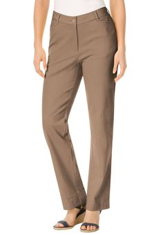 1736ef5ad05 Classic-fit chinos - Women s Plus Size Clothing Stretch Chinos