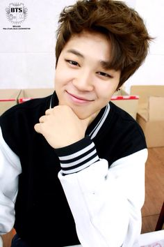 Jimin has the perfect smile