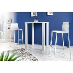 Moderne barstoel Milano wit leer - 35618