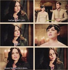 Awesome Regina Snow Charming (Lana Ginny Josh) in Camelot in the awesome Once S5 E2 #ThePrice aired Sunday 10-4-15