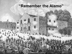 Battle of the Alamo (February 23 - March 6, 1836) Modern-day San Antonio, Texas, United States.