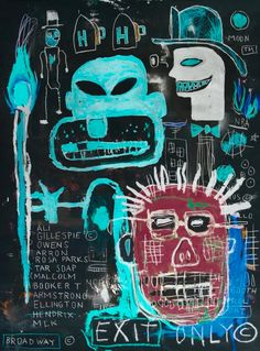 April 15 2018 at from worldintheirart Jean Basquiat, Jean Michel Basquiat Art, Radiant Child, Art Walk, Arte Pop, Outsider Art, Art Plastique, American Artists, Les Oeuvres