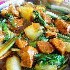 Thaise kipreepjes met paksoi