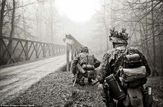 German Waffen SS troops