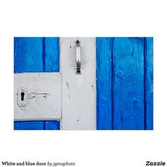 White and blue door acrylic wall art - wood gifts ideas diy cyo natural Acrylic Wall Art, Wood Wall Art, Wall Art Decor, Artwork Pictures, Wood Gifts, Retro Ideas, Blue Art, Blue Walls, Vintage Gifts