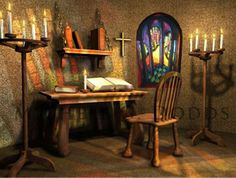Prayer Room ... I would want a prayer and meditation room in the master bedroom suite, somewhere very private.