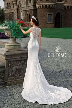 Only in Charme Gaby Bridal Salon Tampa call - Wedding Dress Blue Wedding Dresses, Princess Wedding Dresses, V Neck Wedding Dress, Boho Wedding Dress, Bridal Dresses, Wedding Gowns, Grecian Wedding, Mermaid Wedding, Ball Dresses