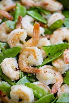 Easy honey garlic shrimp dinner recipe for two. I love recipes like this that come together in a flash and don't leave you with a ton of leftovers. This meal is fresh and light; great for cooking for a weeknight dinner.