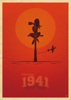 Minimalistic Poster: 1941