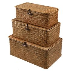 Stylish Resin Storage Boxes with Lid Home Kids Toy Underbed Organiser
