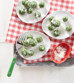 Edible Living: Weelicious Spinach Gnocchi Recipe sub sprouted wheat flour!
