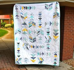 Goose Feathers Quilt by sarahjay | Quilting Pattern - Looking for your next project? You're going to love Goose Feathers Quilt by designer sarahjay. - via @Craftsy