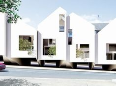 Bondi Beach Houses | James Seung Hwan Kim | Archinect
