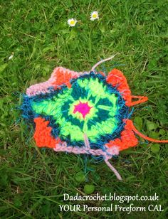 Dada Neon Crochet: YOUR Personal Freeform CAL! - Week 1
