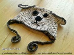Jussara tapetes: Touca dog - T162