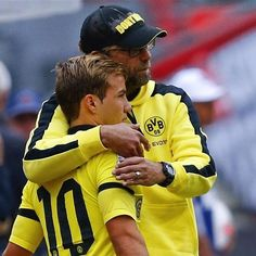 Wouldn't it be great to see both of them in #lfcred instead of yellow next season.  Like if you agree! - pic from @lfcphotos #Mario #Gotze #MarioGotze #wegoagain #YNWA #anfield #dream #jft96 #klopp #kopp #liverpool #lfc #lfcfamily #liverpoolfc #wearestrong #comon #coyr #passion #redordead #red #melwood #idol #trophies #5times #defender #Dortmund