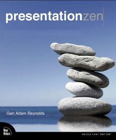 WOOONDERFUL BOOK, REALLY USEFUL! :)  Presentation Zen by Garr Reynolds. Provides lessons to help users design and deliver creative presentations using Microsoft PowerPoint.
