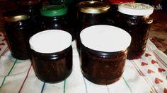 Zavárané černice s cukrom a Amarettom (fotorecept)