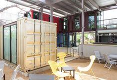 Container Bar by North Arrow Studio & Knowles Design Studio | Austin, Texas, U.S.A.
