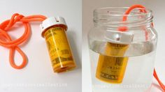 Turn a Pill Bottle into a Waterproof Money Container for the Beach