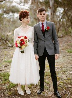 Fabulously Retro Melbourne Wedding